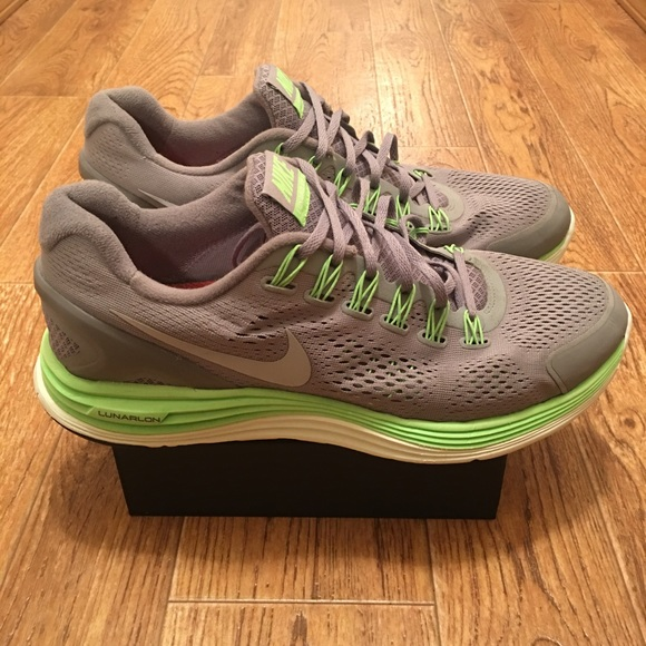 new product d9a7e 05231 [Nike] LunarGlide 4 Men's Running Shoes (used)